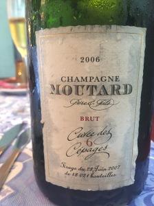 Moutard cuvée des 6 cépages 2006